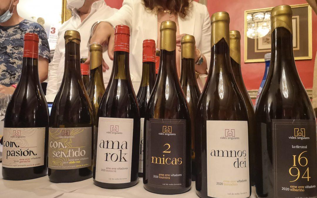 Presentación de nuestros vinos en Experiencia Verema Madrid 2021