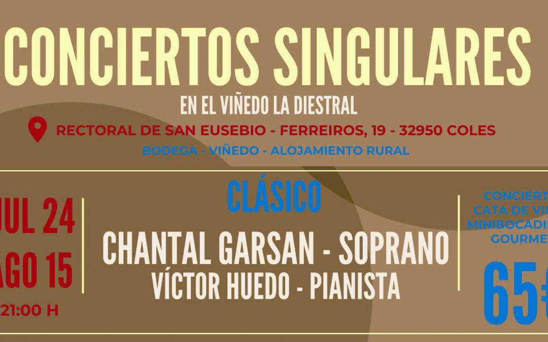 Conciertos Singulares: CLÁSICO 24 de julio y 15 de agosto
